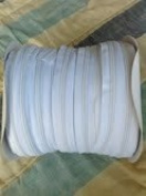 Zipper #5 White 15 Yards