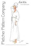 Bath Robe Pattern for 41cm Tyler Wentworth