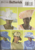 Butterick Misses Hats Sewing Pattern #B4146 - 5 Dress & Ethnic Styles