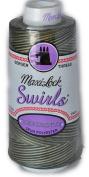 Maxi Lock Swirls Foresty Mint Serger Thread 53-M66