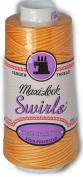 Maxi Lock Swirls Peachy Orange Parfait Serger Thread 53-M61