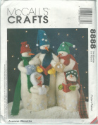 McCall's 8888 Sewing Pattern Crafts Snow Carolers