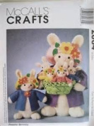 McCall's Crafts Pattern 2064 Easter Bunnies