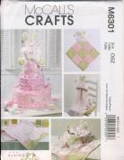 McCall's Crafts Sewing Pattern 6301 - Use to Make - Baby Shower Decorations / Gifts