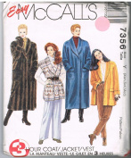 McCalls 7356 Coats and Jacket