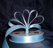 Ribbon - Satin Ribbon- 2.2cm Single Face 50 Yards (150 FT) - Light Blue - Sewing - Craft - Wedding Favours