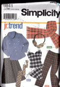 Simplicity 9841 - Shirt, Pants, Camisole, Panties, Bias Skirt and Accessories