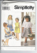 SIMPLICITY CHILD'S PATTERN 8891- SIZE AA