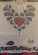 2 Colour Paisley Heart - Easy Iron-On Patterns by Glenda Betz