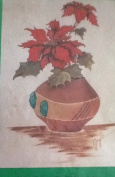 Sante Fe Poinsettia - Easy Iron-On Patterns by Gayle
