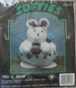 Ted E. Bear - Softies - Hobby Kraft Kit #9418