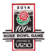2014 Vizio Rose Bowl Game in Pasadena Jersey Patch