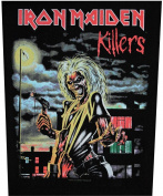 XLG Iron Maiden Killers Woven Back Jacket Patch