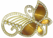 BuckleUSA Butterfly With Long Anthenas Belt Buckle Multicoloured One Size