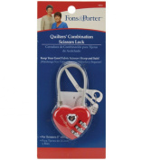 Fons & Porter Safety Tool - Quilters' Combination Scissors Lock - 20cm scissors & up