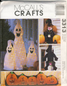 McCall's Crafts Pattern 3313 Halloween Decorations