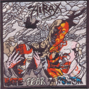 Hirax-Hate Fear and Power-Embroidered Patch
