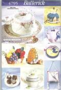 Butterick Pattern 4795 : Pin Cushions