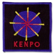Kenpo Wheel Patch 19cm X 24cm