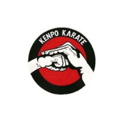 Large Kenpo Karate Patch 18cm