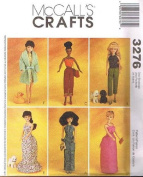 Mccall's Crafts 3276 Doll Patterns