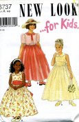 New Look for Kids Formal Dress Sewing Pattern #6737