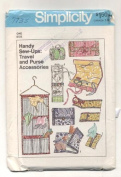 Vintage 1970s Simplicity 7735 Travel and Purse Accessories Sewing Pattern