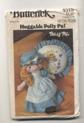 Vintage Butterick 4519 Polly Pal Stuffed Doll, Clothing and Pillow Sewing Pattern