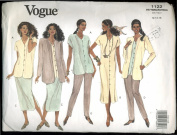 Vogue Sewing Pattern 1122 Misses' Petite Jacket, Dress, Top, Skirt & Pants
