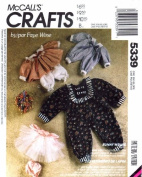 McCall's 5339 Crafts Sewing Pattern Rabbit Wardrobe Package