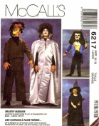 McCall's 6217 Costume Sewing Frankenstein Monster Friends