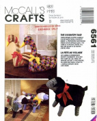 McCall's 6561 Crafts Sewing Pattern Stuffed Lamb Goose