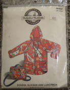 Dakota Station Sewing Pattern #08062, School Slicker and Lunchbox, size Lg/Xlg