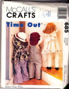 Mccall's Craft Pattern 685, Time Out