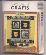McCall's Crafts Pattern 3774 Mary Engelbreit Quilt, Tote, Frames Life is Just a Chair of Bowlies