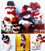 OOP McCalls Crafts Pattern M4996. Snowman Accessories