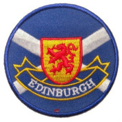 Edinburgh Lion Saltire Patches