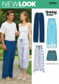 New Look Sewing Pattern 6764 Miss/Men Separates, Size A