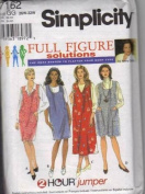 Simplicity 7162 - Full Figure Solution - 2 Hour Jumper - Size GG