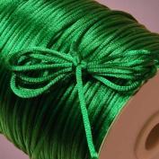 Emerald Green Rat Tail Cord, 2mm X 200Yd