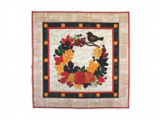 "Cherry Blossoms ""Autumn Bliss"" Quilted Wall Hanging Pattern and Instructions"