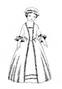 Child's Colonial Gown Pattern