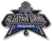 2012 Texas League MiLB All Star Game Tulsa Drillers Patch