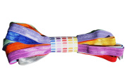 Fold Over Elastic Spring / Summer 2014 Set; All 10 Colours of FOE 1.6cm Wide; 10 Yards, 1 Yard of Each