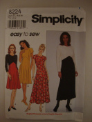 Simplicity Easy to Sew Misses Dress Size H 6, 8, 10 #8224