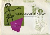 Stretch & Sew Pattern 790 ~ Ladies' Bodysuit / Body Blouse ~ Vintage 1967