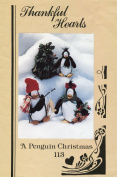 Thankful Hearts A Penguin Christmas Craft Pattern