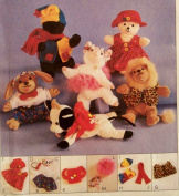 McCall's Craft Pattern 9553. Clothing & Accessories for Bambini or Beanie Babies