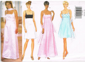 Butterick 5938 Formal Dress and Scarf Pattern