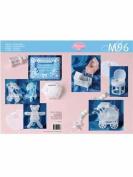 Ecstasy Crafts M96 Pergamano Pattern Book - 3D Baby Furniture
